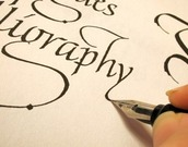 Predstavitvena delavnica kaligrafije