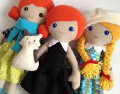Ročna dela: Izdelava punčk iz cunj