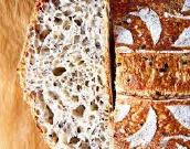 peka kruha z drožmi